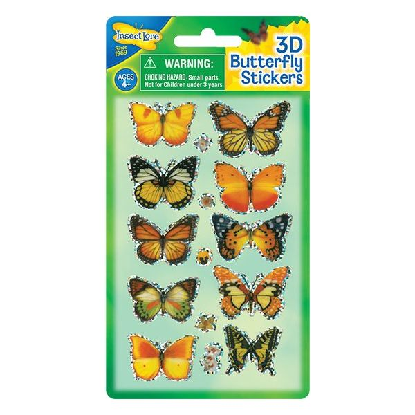 3D Vlinder Stickers