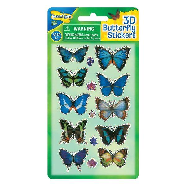3D Vlinder Stickers variant 1