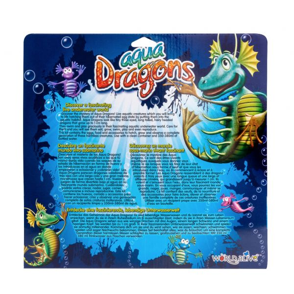 Aqua dragons back package