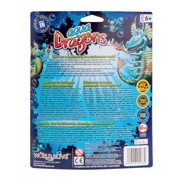 aqua dragons blister back