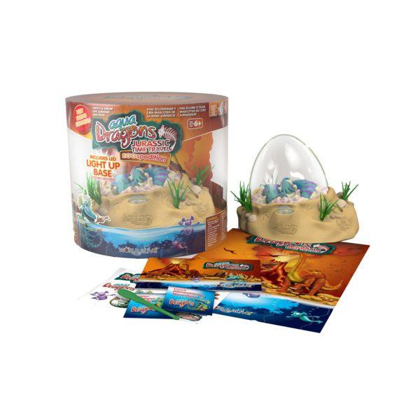 Aqua Dragons Jurassic Eggspedition LED set