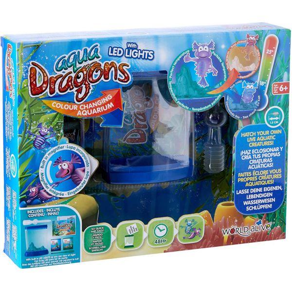 Aqua Dragons - Sea Monkeys Aquarium + Led Box