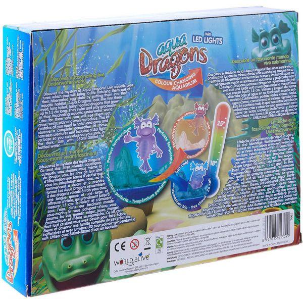 Aqua Dragons - Sea Monkeys Aquarium + Led