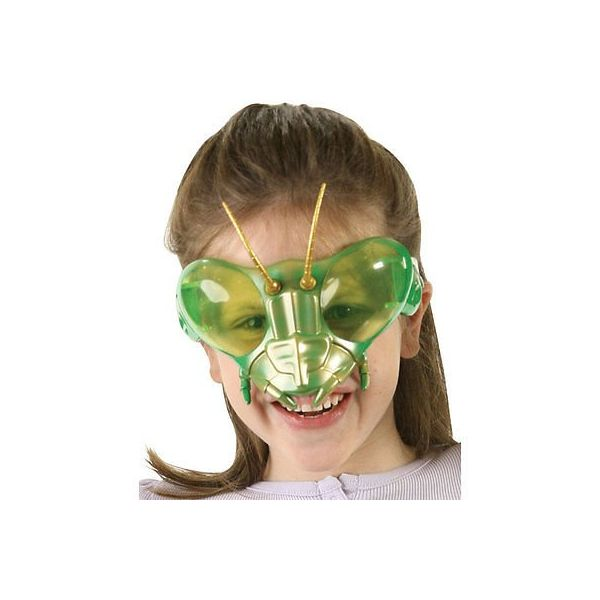 Mantis mask on face