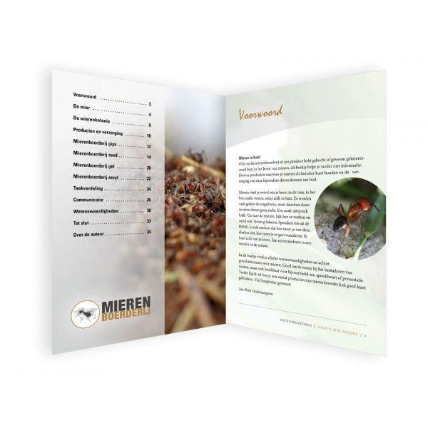 Boekje 'Mieren zijn Helden'! binnenkant