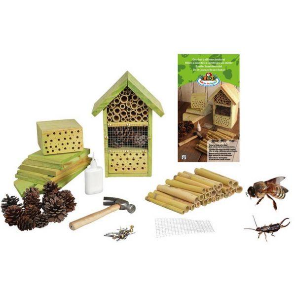 Doe Het Zelf Insectenhotel inhoud pakket