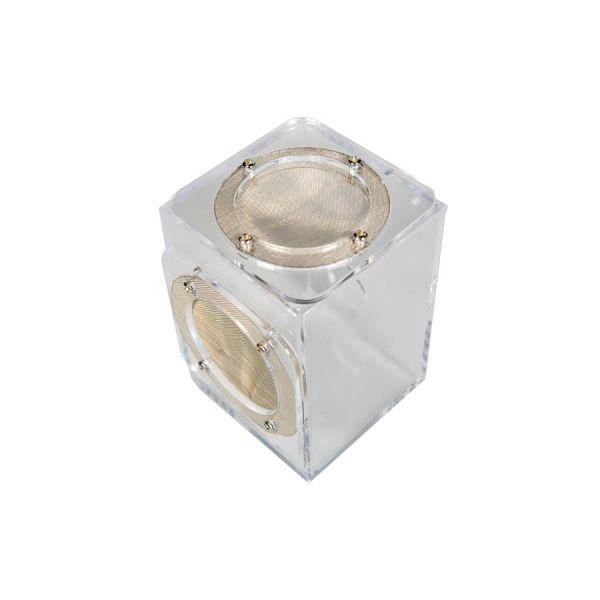 Springspinnen terrarium 7x7x10