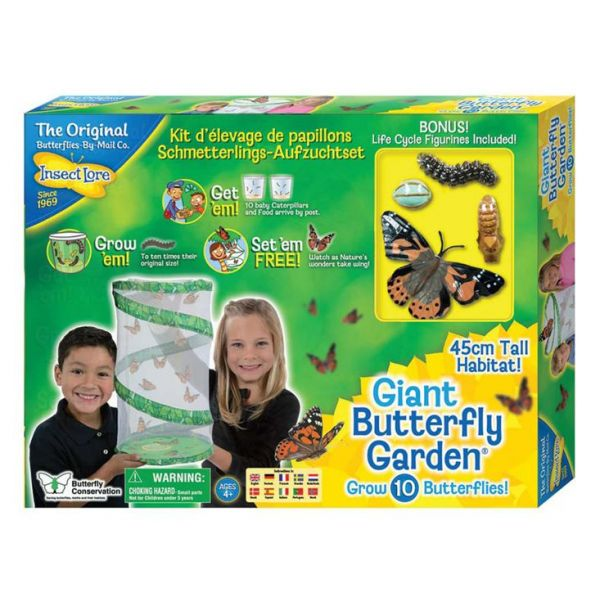 Giant butterfly garden, reuze vlinder kweekset