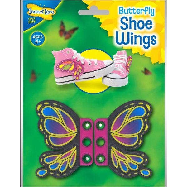Vlinder schoenveter vleugels variant 3
