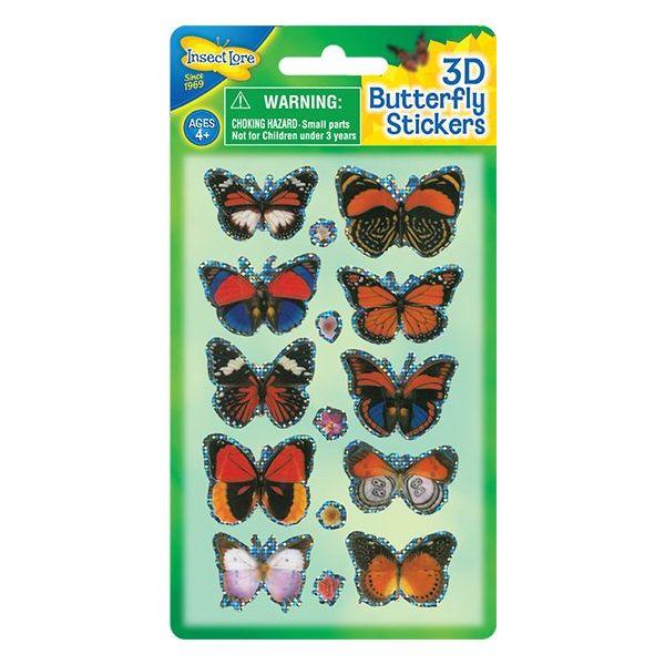 3D Vlinder Stickers variant 2