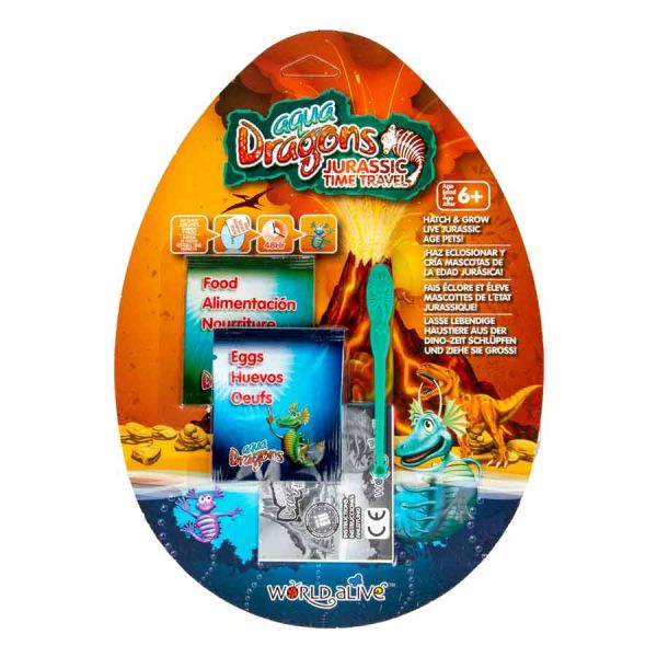 Aqua dragons jurassic blister