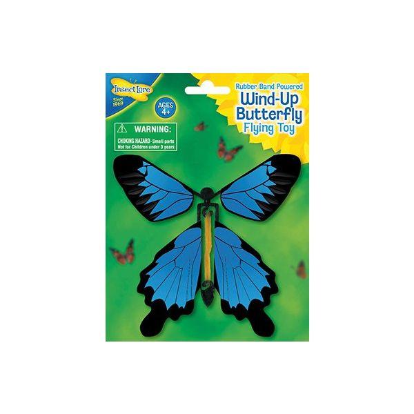 Opwind Vlinder, vliegend speelgoed variant 1