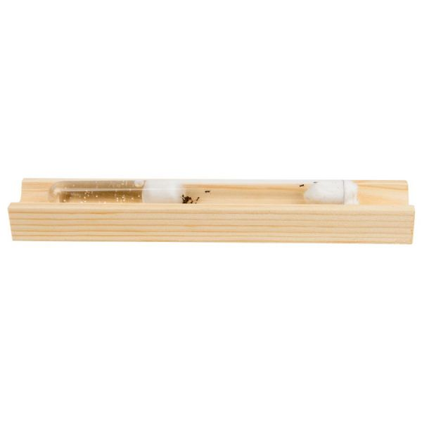 Sideview wooden test tube holder