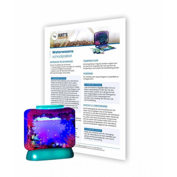 Waterwezens Schoolpakket