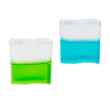 Mini gel mierenboerderij groen en blauw